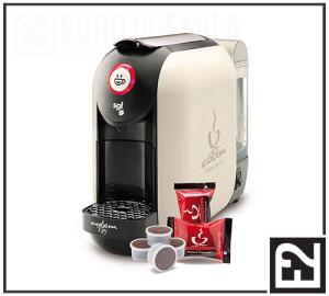 euroduemila - Macchina per Caffè FLEXY Bianca