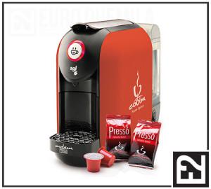 euroduemila - Macchina per Caffè FLEXY Rossa